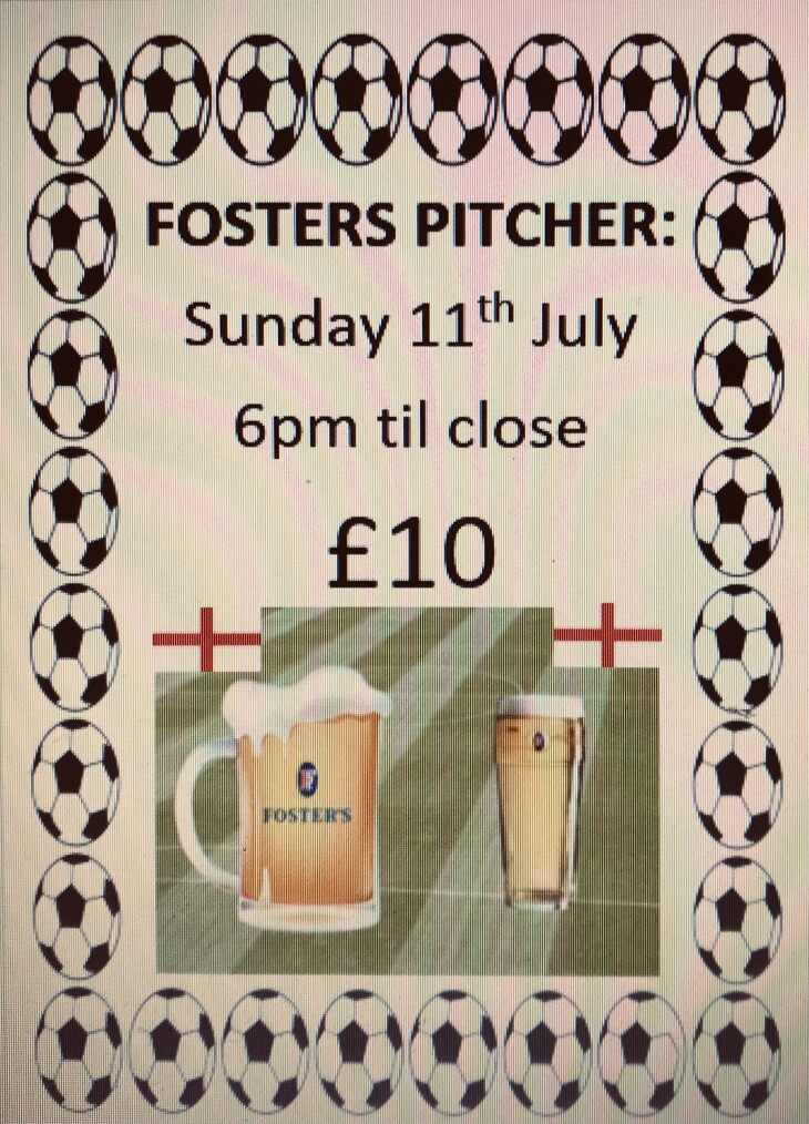 Fosters Pitcher