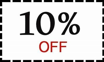 10% Discount off your Food Bill