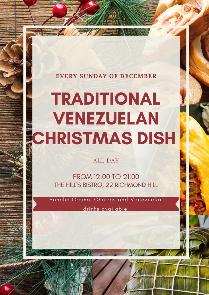 TRADITIONAL VENEZUELAN CHRISTMAS DISH