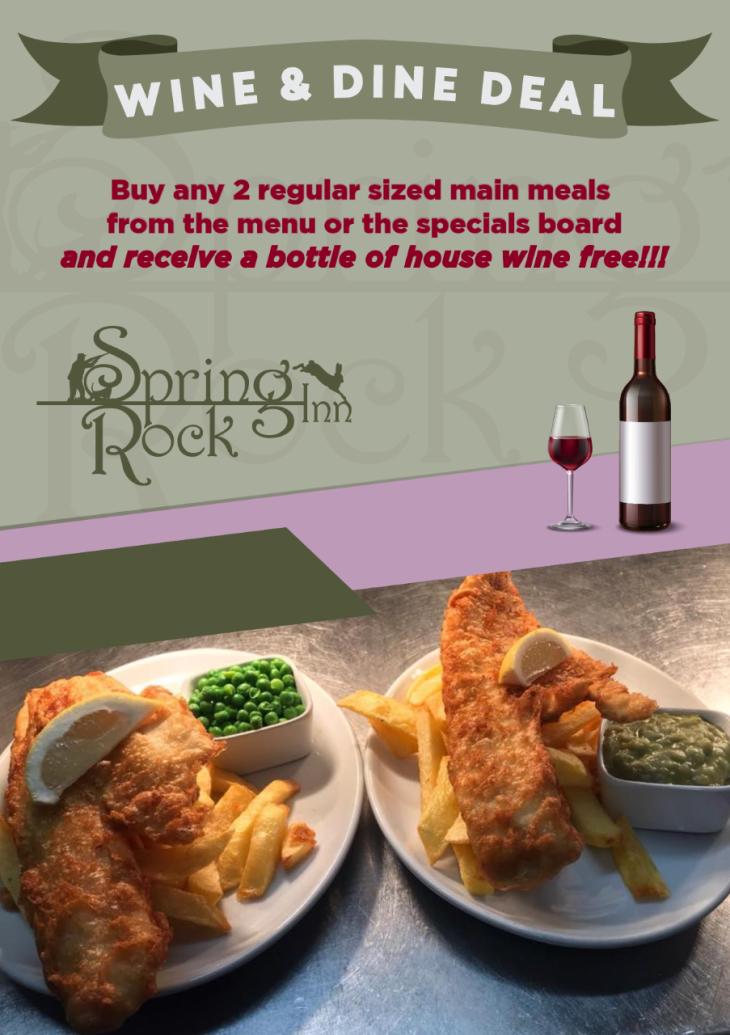 Wine & Dine Deal