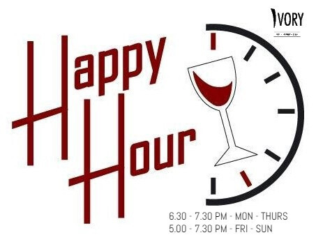 HAPPY HOUR at IVORY