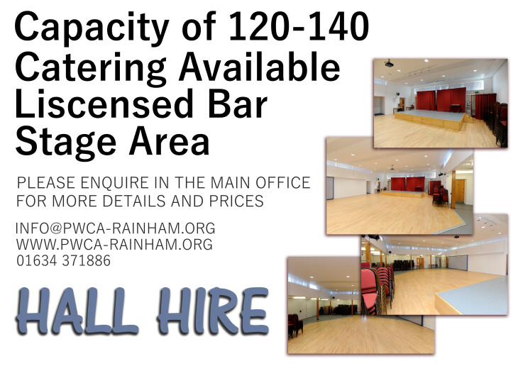 Hall Hire - Discounts Available