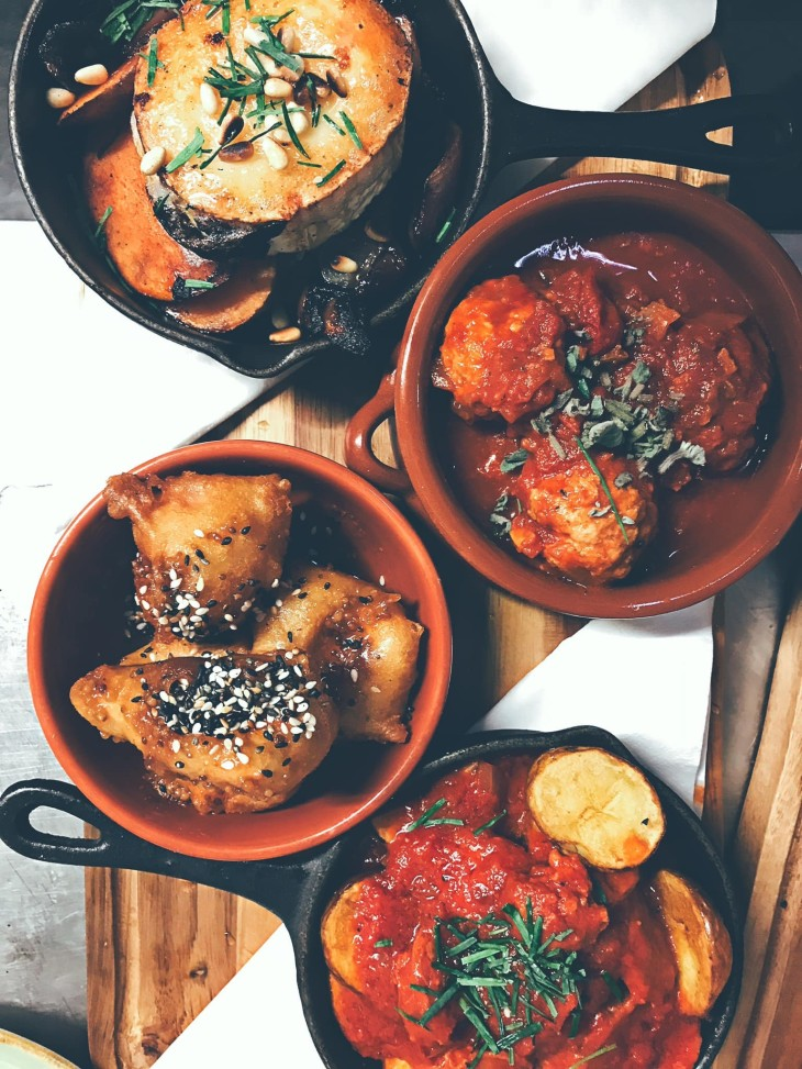 TAPAS TIME! Any 3 & bottle wine £19.95