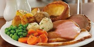 2 Course Sunday Lunch £12.95