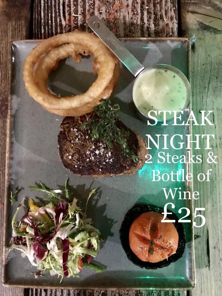 Steak night ? ?