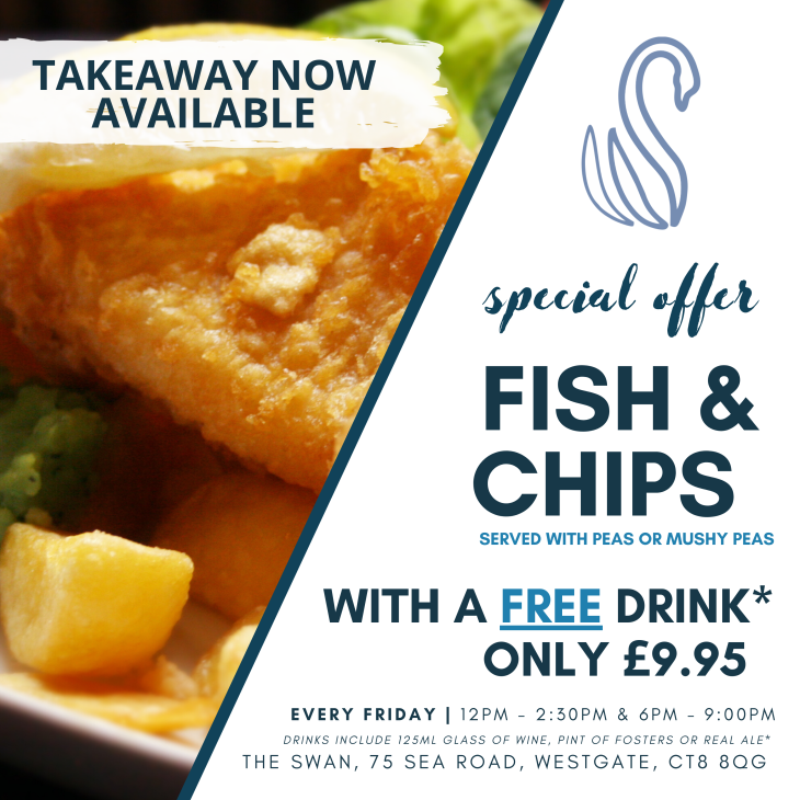 FISH & CHIP FRIDAY IS STILL ON!