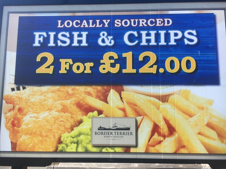2 Fish & Chips only £12