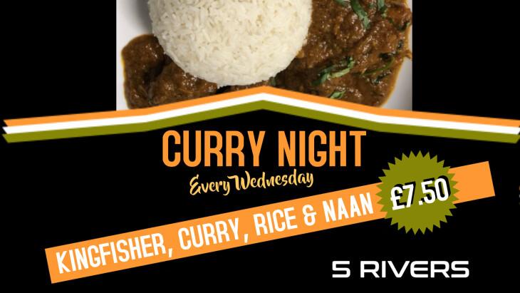 £7.50 Curry Night