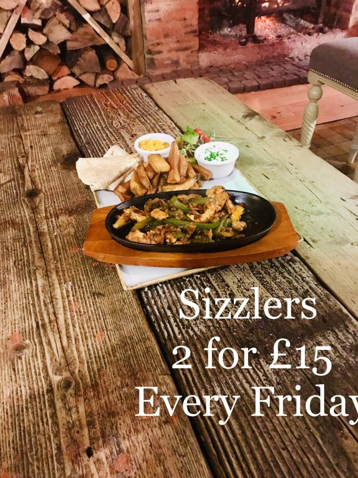 Two sizzlers for £15!