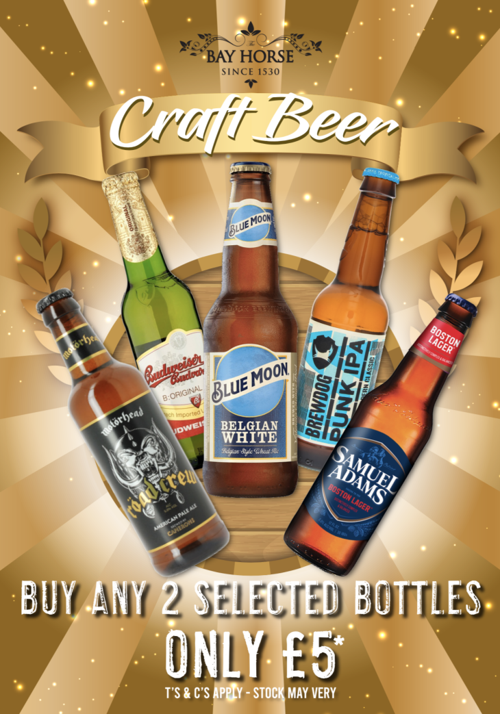 Craft Beer Offer