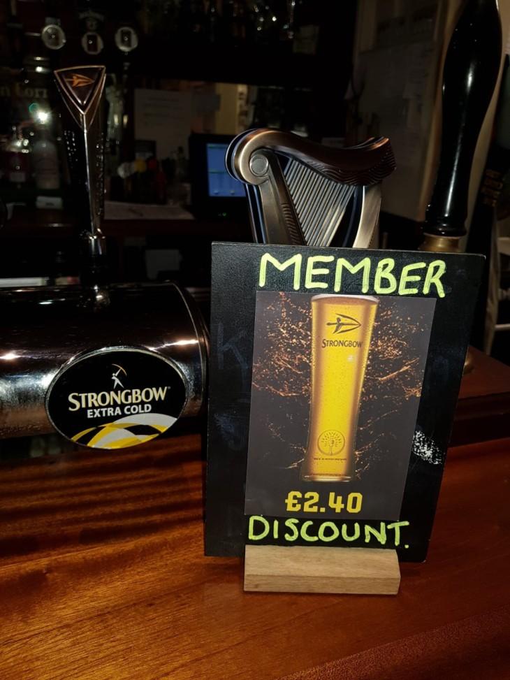 Members Discount