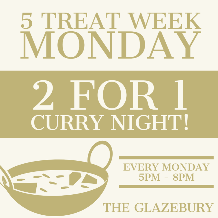 Monday is CURRY NIGHT!