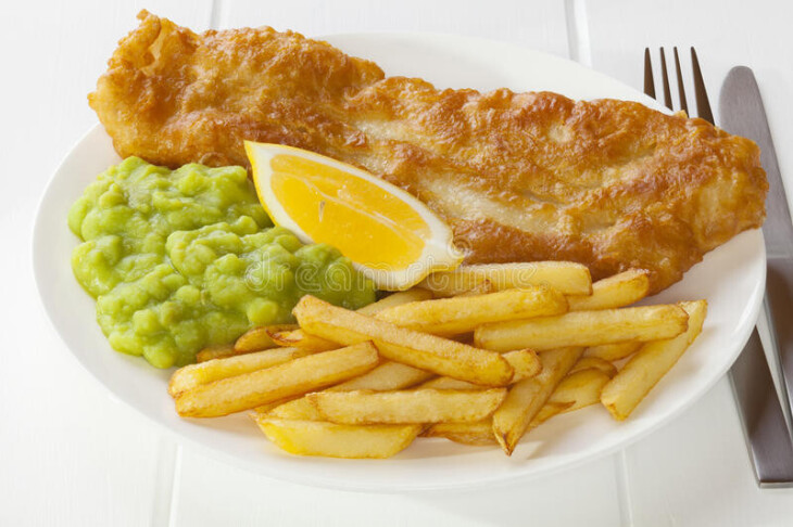 Seniors' Fish & Chip Special