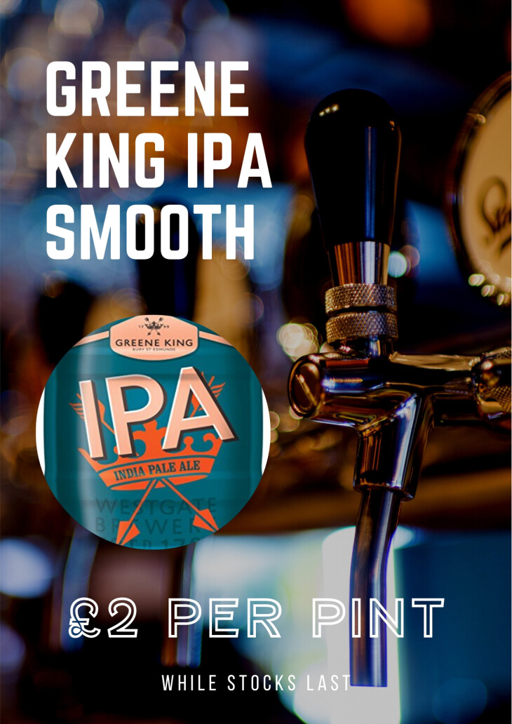 Green King IPA £2