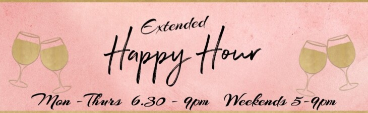 HAPPY HOUR at IVORY EXTENDED!!!