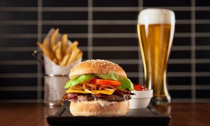 Burger & a Drink £6.50