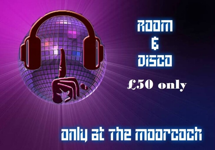 ROOM AND DISCO ONLY £50