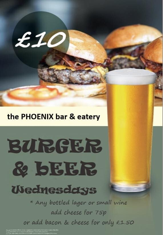 Burger & Beer Wednesdays