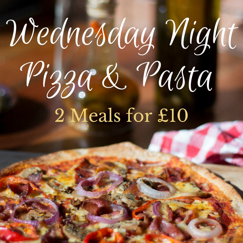 Pizza And Pasta Wednesday The Engine Inn Walbottle