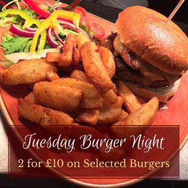 Burger Night Tuesday
