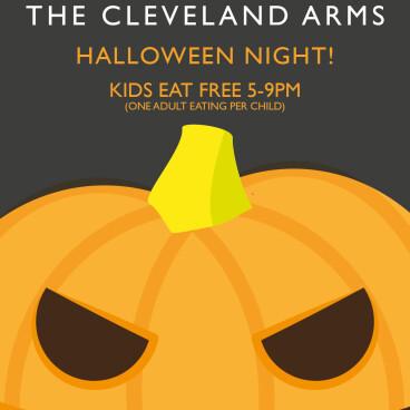 Kids eat free at Halloween!!