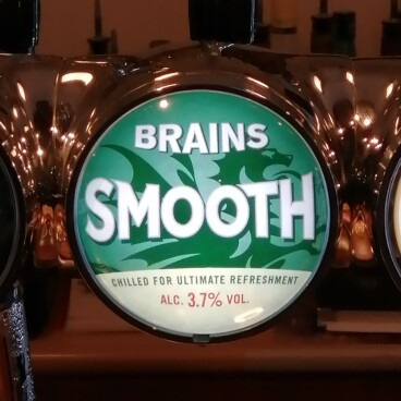 Brains Smooth Bitter now on tap !