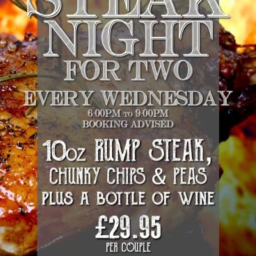 Wednesday Steak Night for Two!