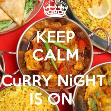 Curry Night Wednesday