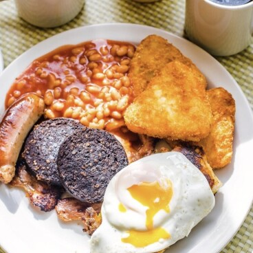 All you can eat Breakfast £5