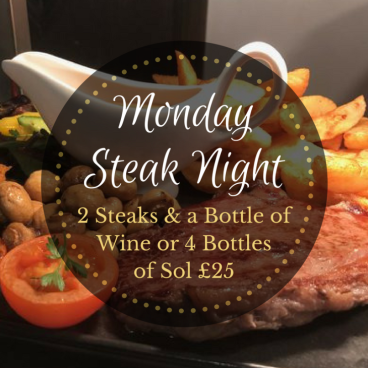 Monday night is Steak Night