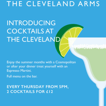 Cocktails at The Cleveland