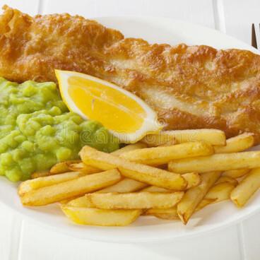 Seniors' Fish & Chip Special