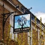 Five Lamps