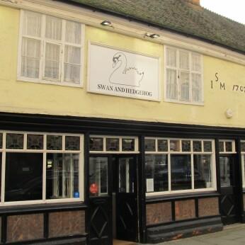 Swan and Hedgehog Inn, Ipswich