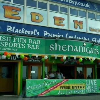 Shenanigans Irish Bar, Blackpool