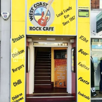 West Coast Rock Cafe Bar, Blackpool