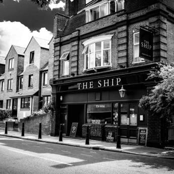 Ship, London E14