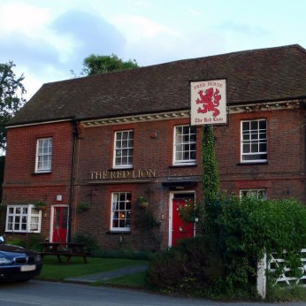 Click to view full size - Red Lion, Hitchin(photograph number 1)