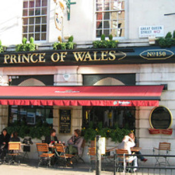 Click to view full size - Prince Of Wales, London(photograph number 1)
