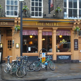 Click to view full size - Mitre, Cambridge(photograph number 1)