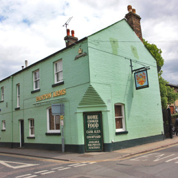 Click to view full size - Panton Arms, Cambridge(photograph number 1)