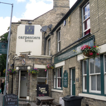 Click to view full size - Carpenters Arms, Cambridge(photograph number 1)