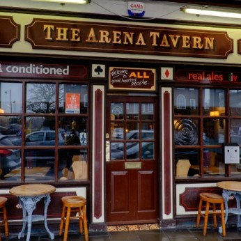 Click to view full size - Arena Tavern, Letchworth Garden City(photograph number 1)