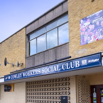Cowley Workers Sports and Social Club, Cowley