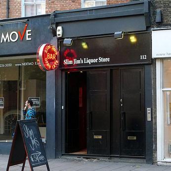 Slim Jims Liquor Store, London N1