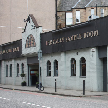 Click to view full size - Caley Sample Room, Edinburgh(photograph number 1)