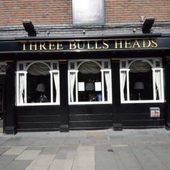 Click to view full size - Three Bulls Heads, Newcastle upon Tyne(photograph number 1)