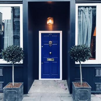 Little Blue Door, Fulham