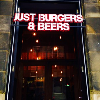 Just Burgers & Beers, Edinburgh