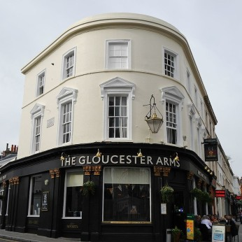 Click to view full size - Gloucester Arms, London(photograph number 1)